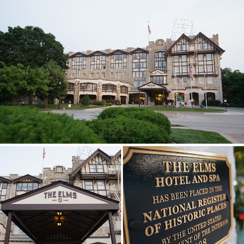 Excelsior Springs The Elms Hotel Wedding Elopement pictures