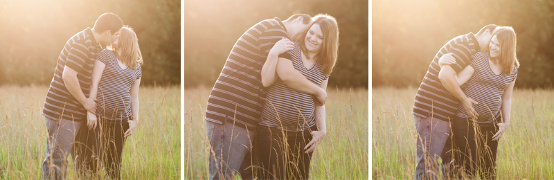 kansas city sweet outdoor baby bump session picture