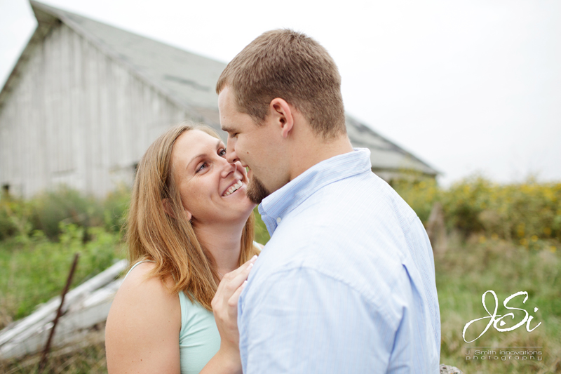 Kansas City Country Engagement Session picture