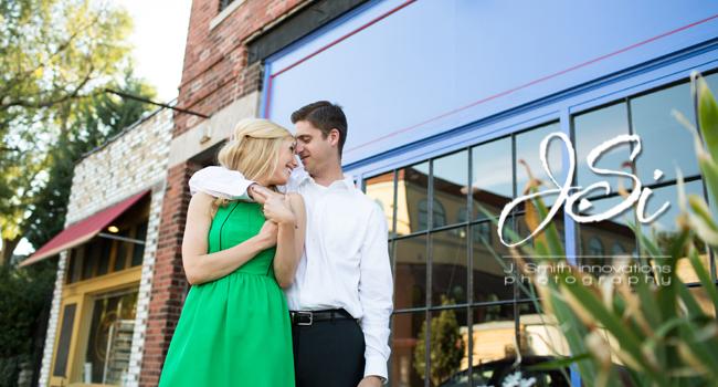 Kansas City Crossroads Engagement Session Country Club Plaza Wedding Photogrphers JSi Photography
