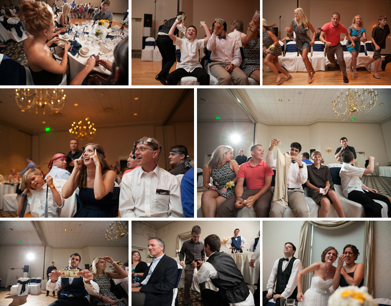 Overland Park Ritz Charles wedding reception photo