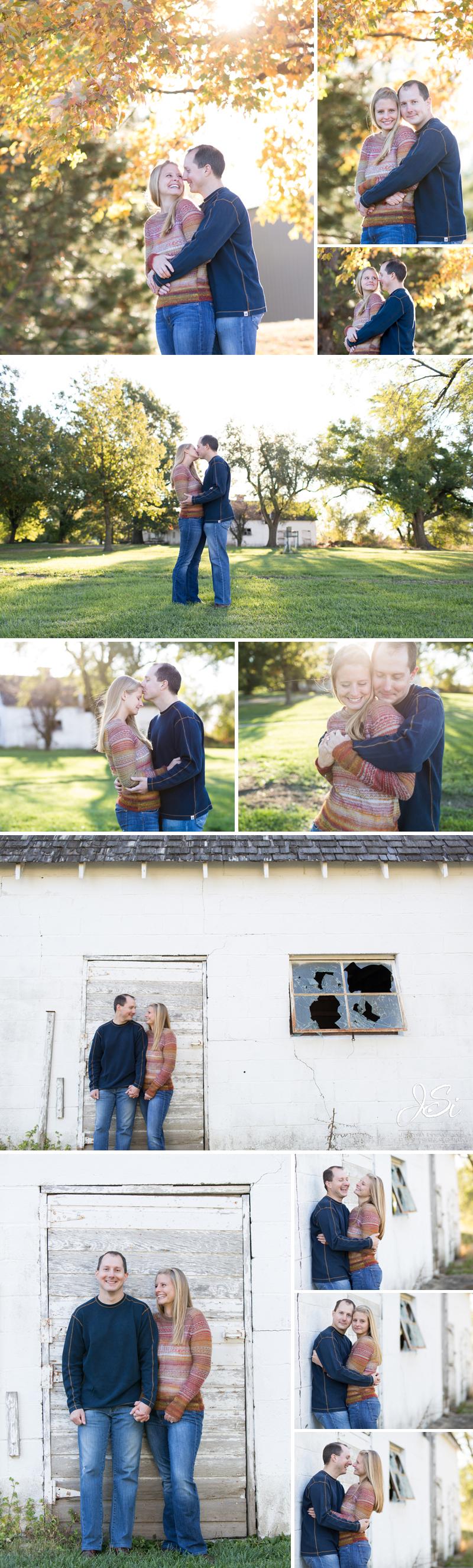 Kansas City Outdoor Engagement Session photo