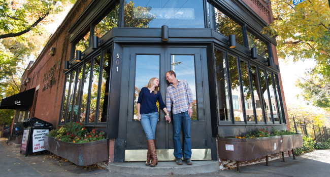 KC Westport engagement session Kansas City wedding photographers photography blog