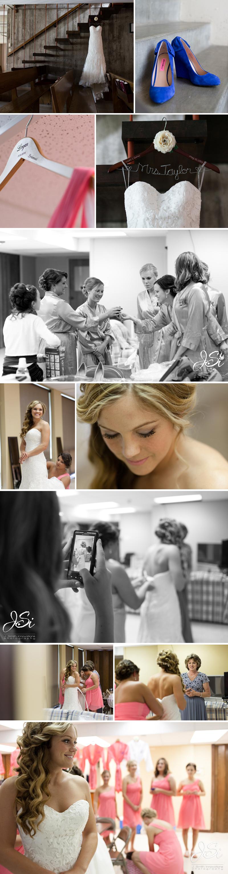 Lawrence Kansas Alvamar Country Club Immanuel Lutheran Church wedding photo