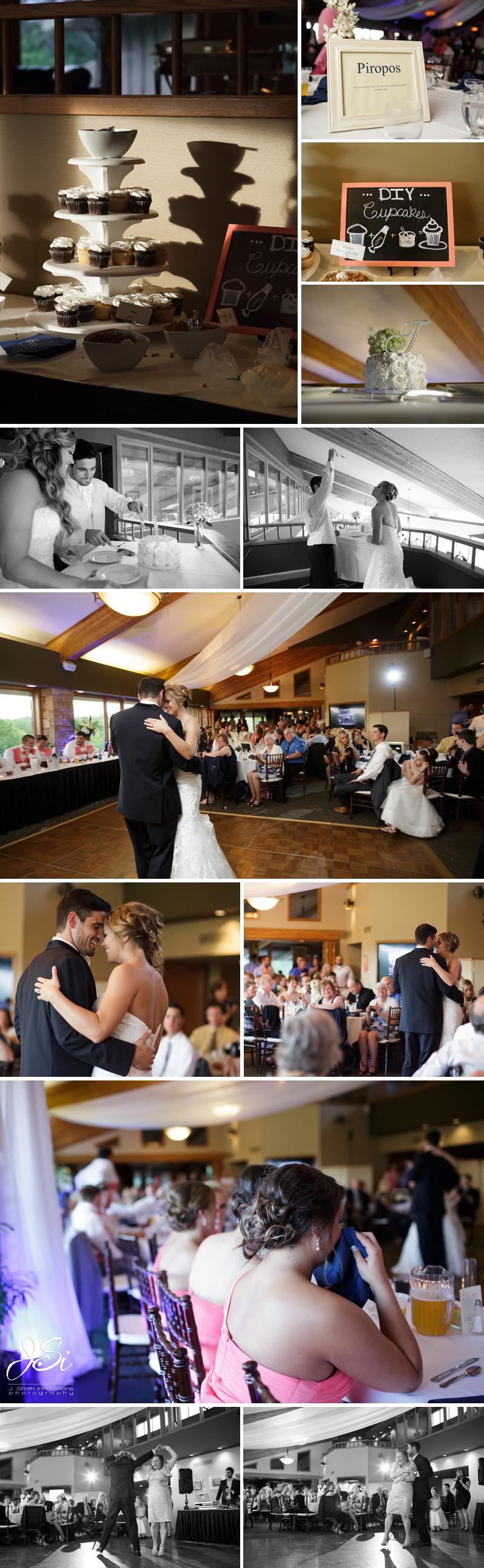 Lawrence Kansas Alvamar Country Club wedding photo