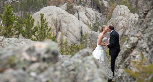 South Dakota wedding photographers Custer State Park Sylvan Lake photo blog KC Wedding Photographers