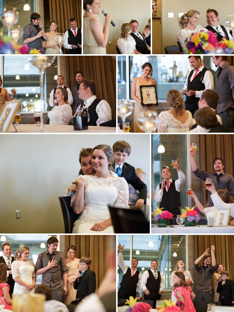 KC Boulevard Brewery wedding reception photo
