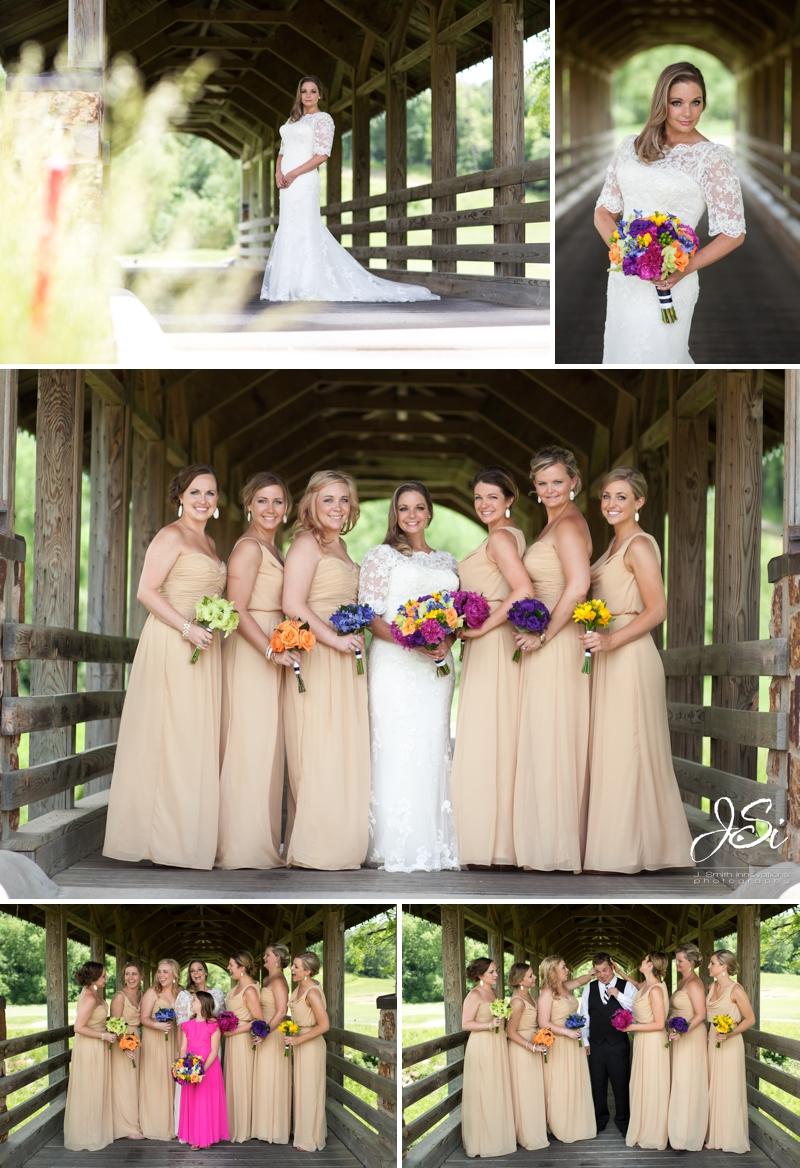 Parkville Missouri The National Golf Club Dan Meiners flowers wedding photo