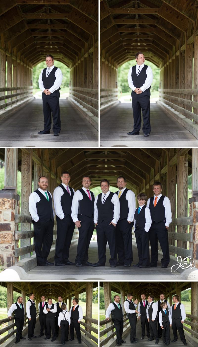Parkville Missouri The National Golf Club wedding photo