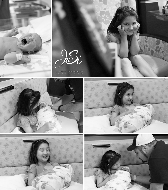 Kansas City documentary newborn birth photography portrait session photo
