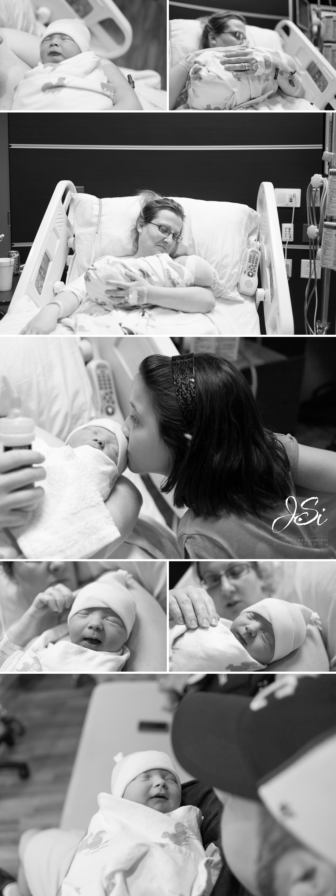 Kansas City documentary newborn birth photography portrait session photo