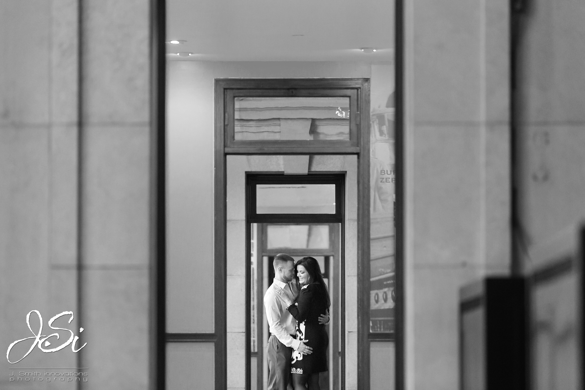 KC Husband and Wife Wedding Photographers Kansas City Union Station Authentic engagement session blog