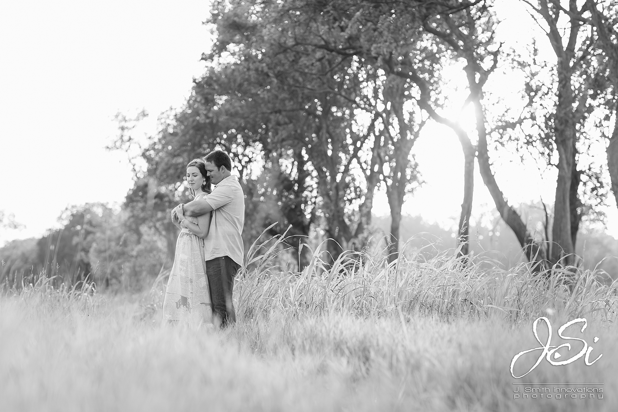 Kansas City husband wife wedding photographers engagement blog photo