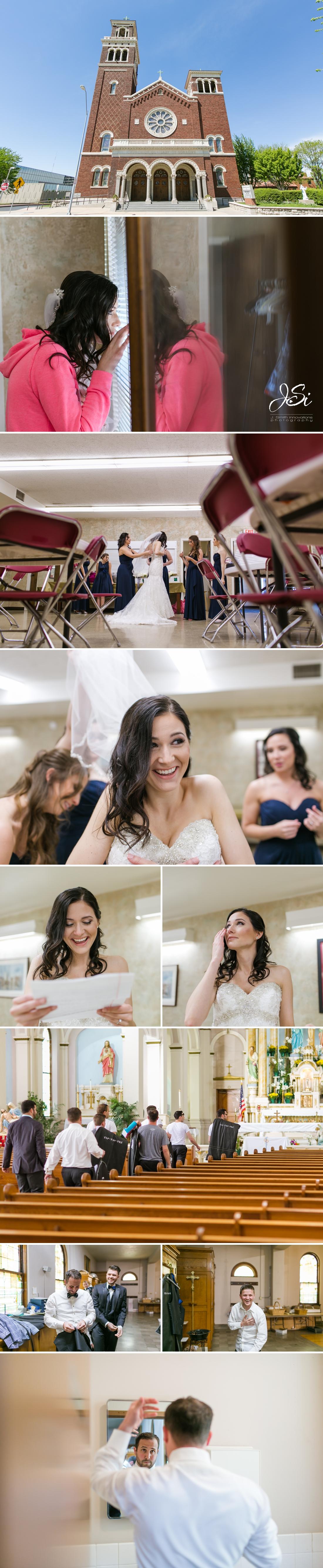 Kansas City fun heartfelt wedding picture