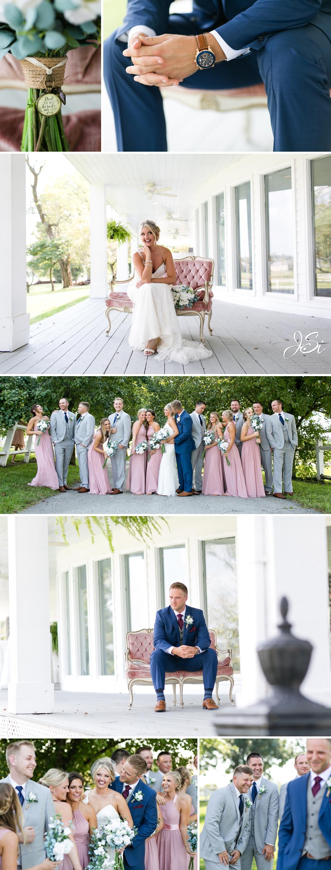 Kansas City Executive Hills Polo Club cheerful joyful wedding story photo
