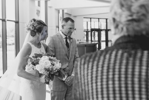 Kansas City photographer bride dad walking down aisle crying real moment gallery