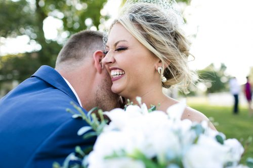 honest happy photo of bride groom real candid moment