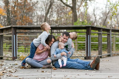 family photographer capturing real families and real happiness photo