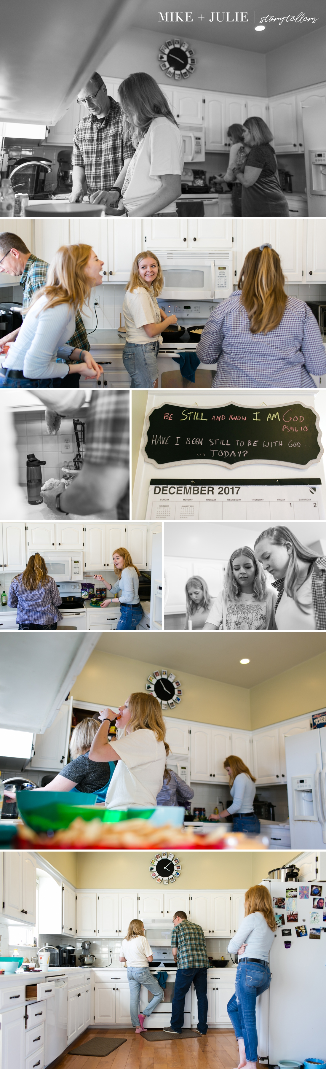 Kansas City pizza night family traditions documentary photo session picture