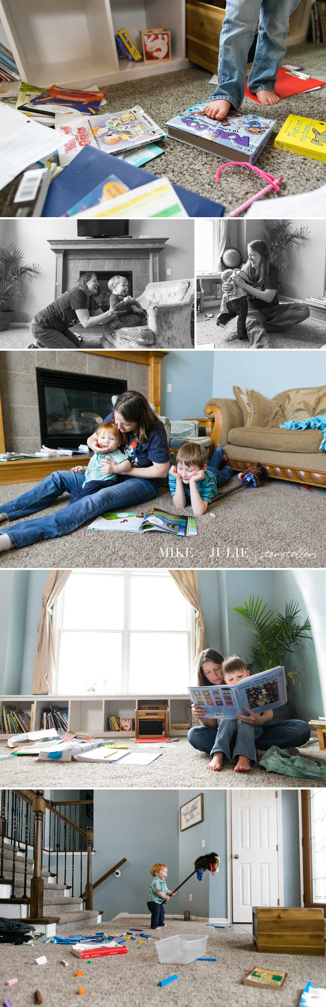 Kansas City real life moments day in the life documentary family pictures session photo