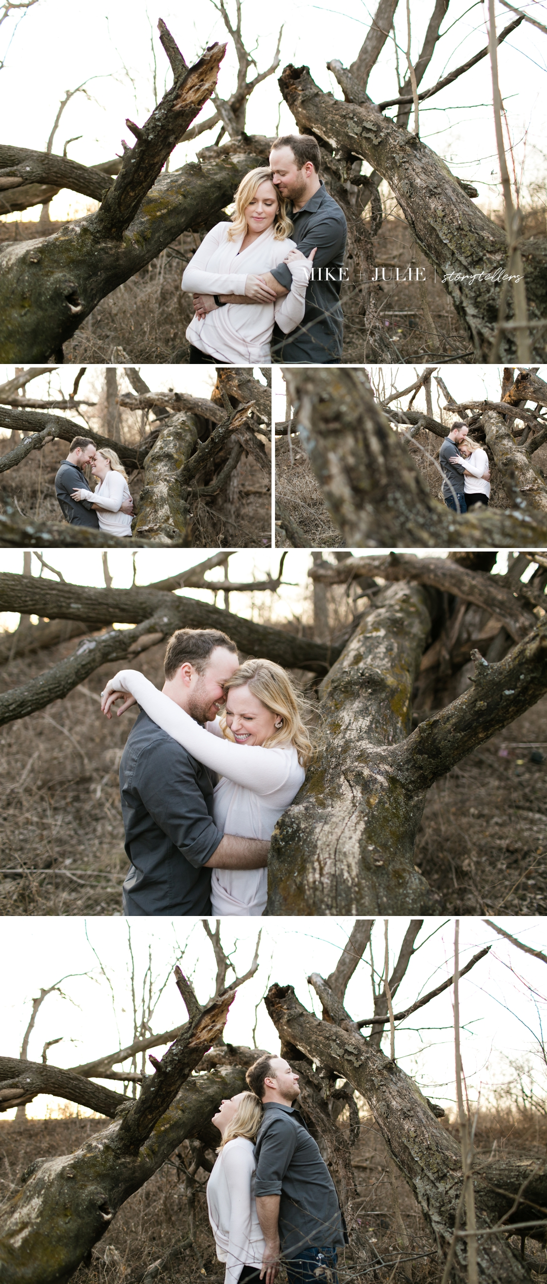 Olathe Kansas Heritage Park relaxed fun real moments engagement session