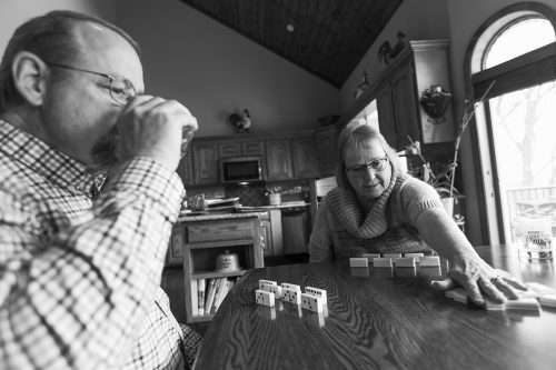 fun family games together dominos documentary photo