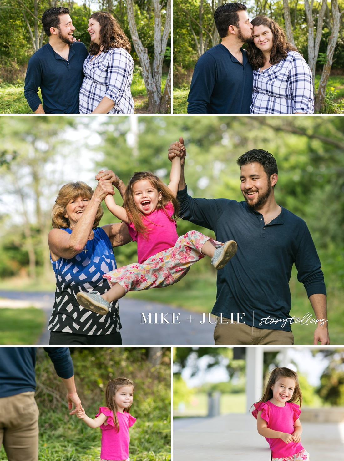 Kansas City family photographers best successful family pictures session