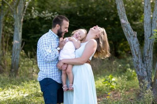 candid family photographers in KC joyful families