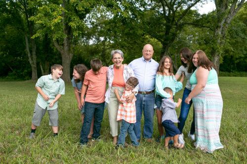 extended family photographer in Kansas City
