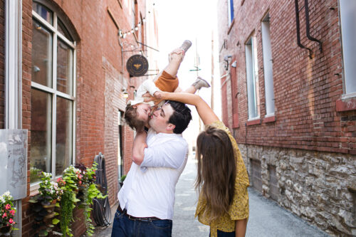 family photographers near me fun session