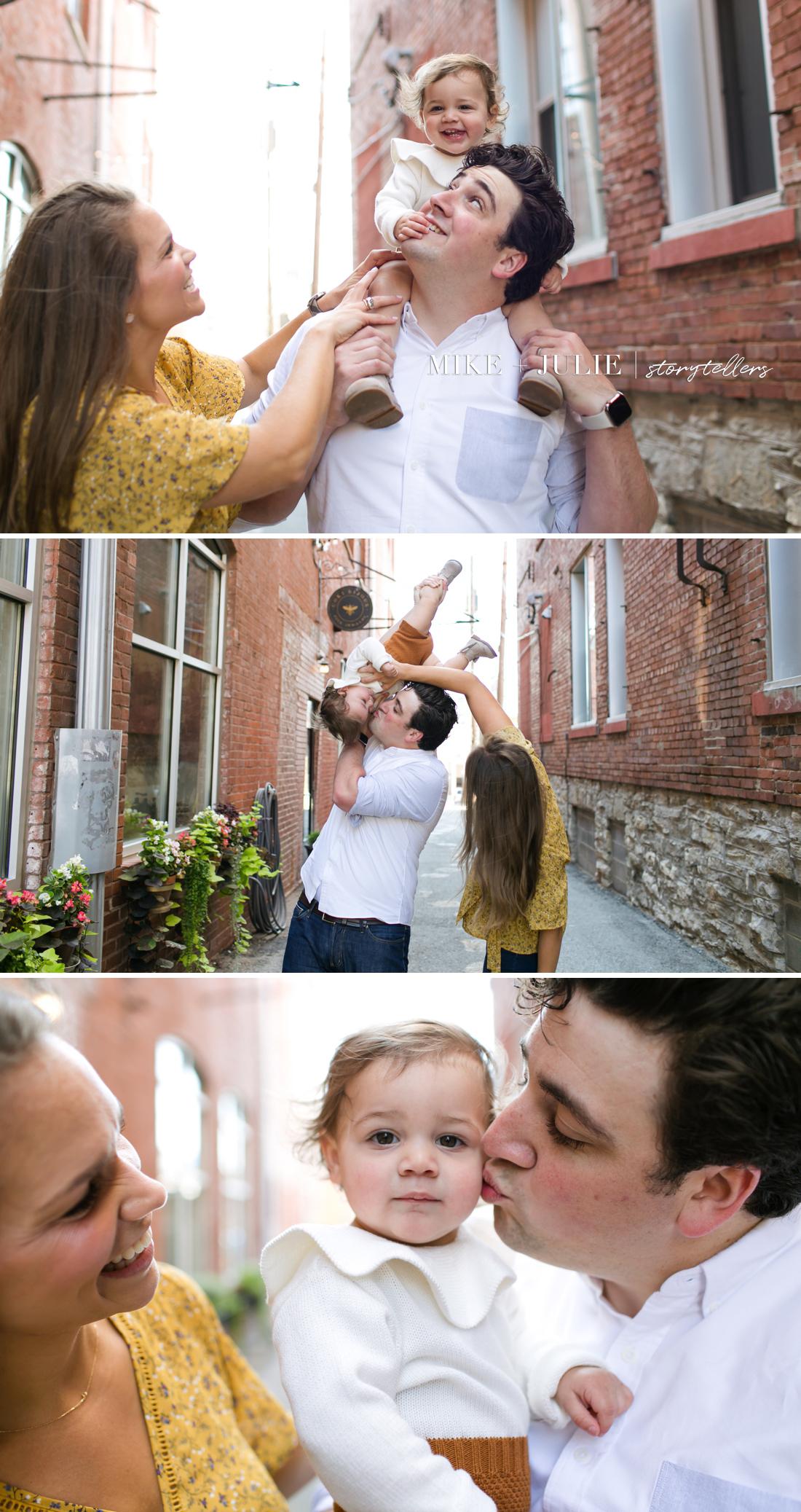 family photos can be fun Overland Park photographers