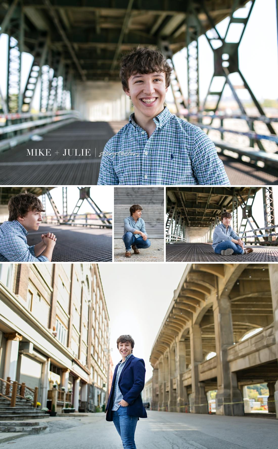 Kansas City boy senior pictures photographer