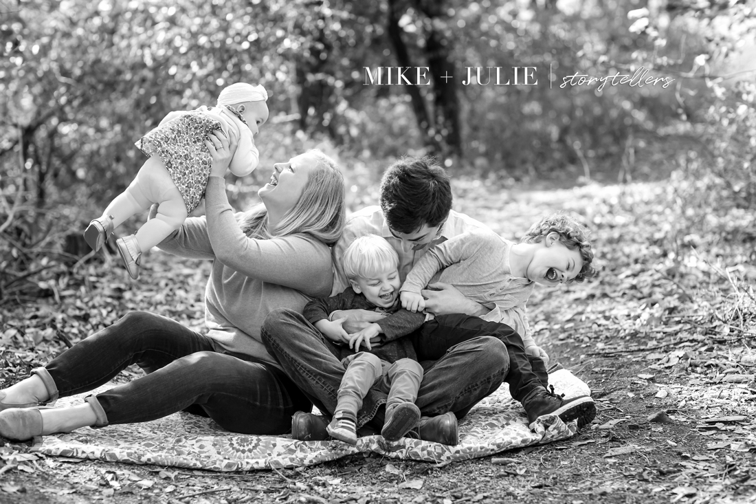 not posed family photos showing real happiness Shawnee Kansas photographers