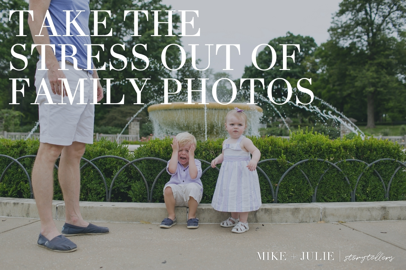 stress free family photos