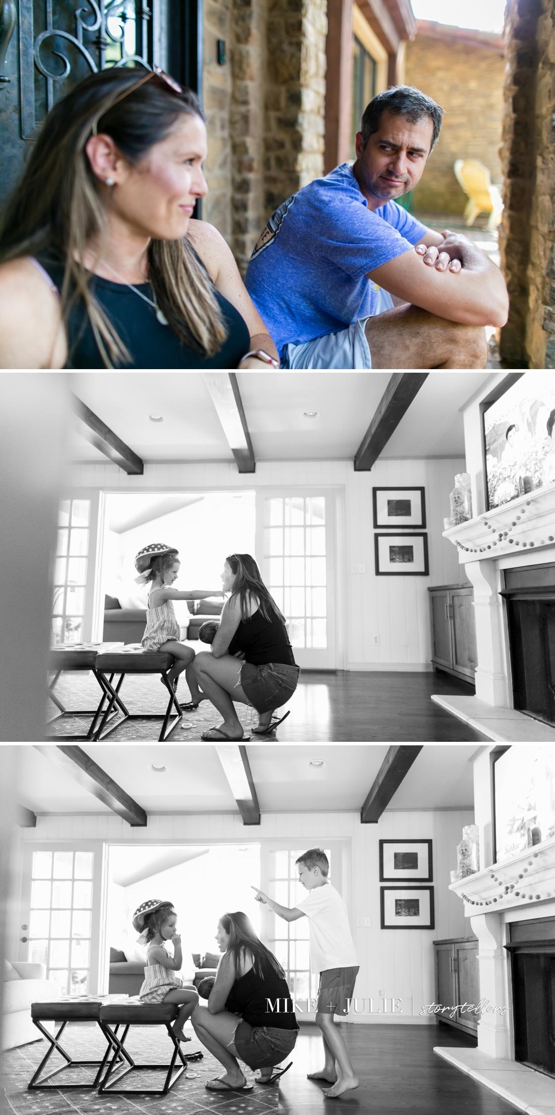 Shawnee Kansas family photographer candid fun pictures