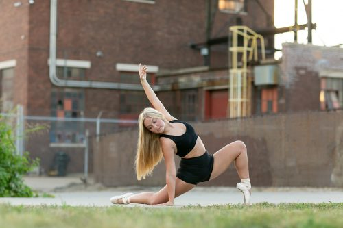 amazing kansas city dancer photo session