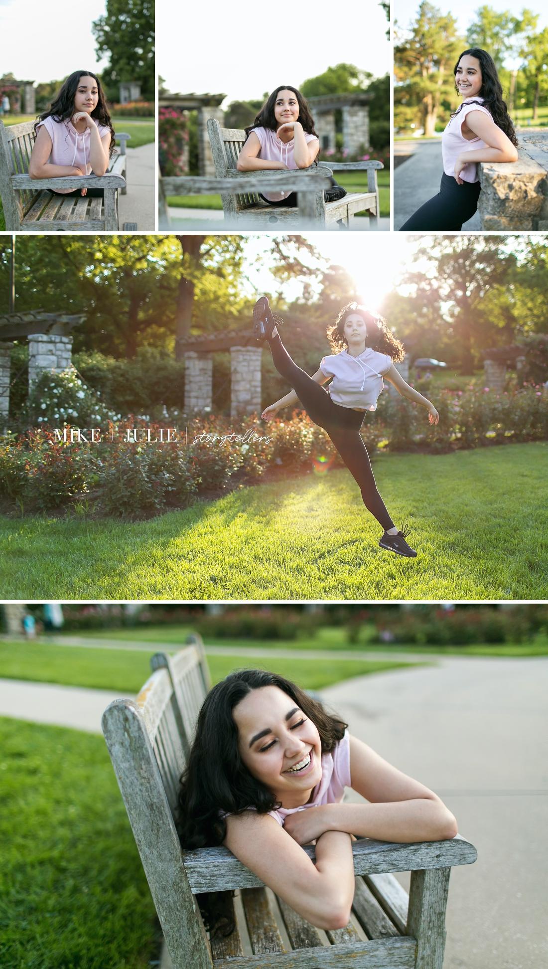 Kansas City dance photographer dancer photo sessions
