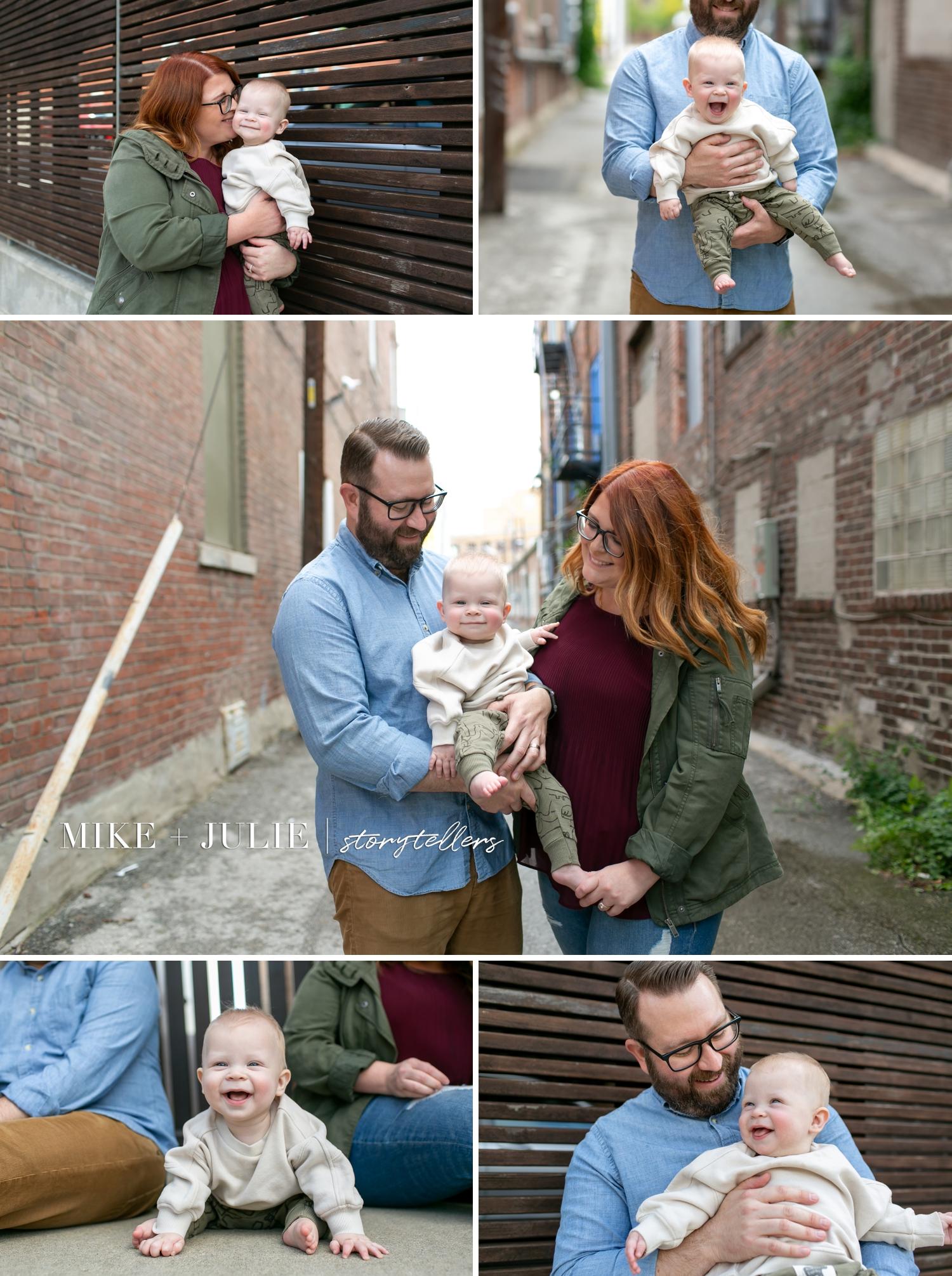 baby milestone photographer in Kansas City newborn collections