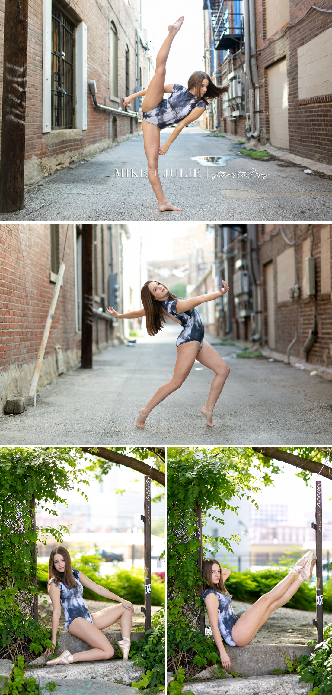 picture of dancer from Kansas City dance photo session